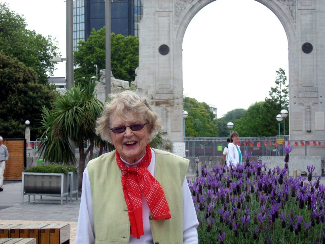Recycling stalwart Mollie Anderson has died at the age of 91. Photo: North Canterbury News