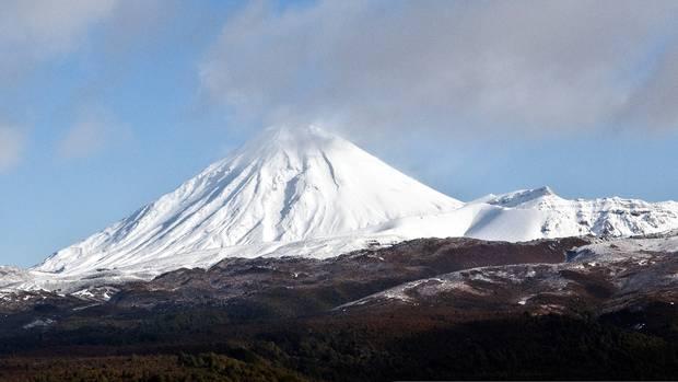 Mount Tongariro photographed in July 2016. Photo: NZ Herald