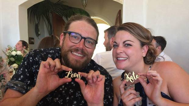 Leon and Kate Taylor. Photo: Supplied via NZ Herald
