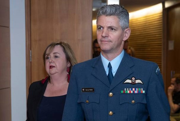 Air Commodore Darryn Webb, who has put in charge of the managed isolation and quarantine...