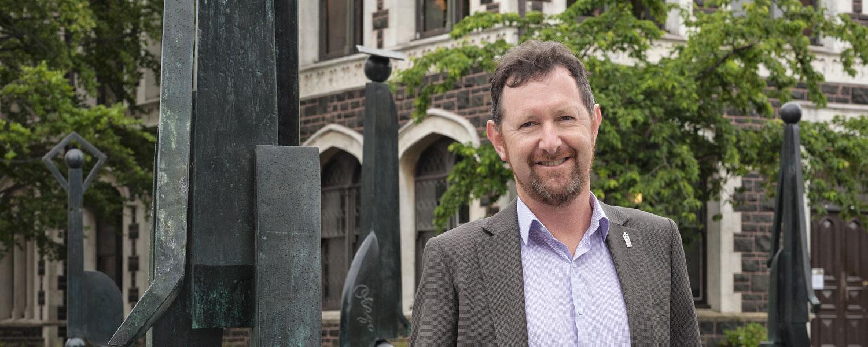 David Thomson.  Photo: Otago University