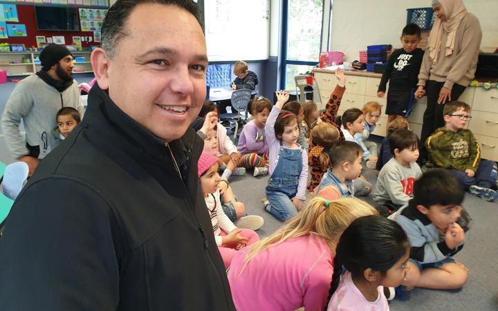 Tawa School principal Barri Dullabh. Photo: RNZ / John Gerritsen