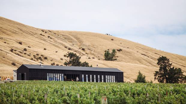 Black Estate winery in the Waipara Valley of North Canterbury. Photo: Supplied