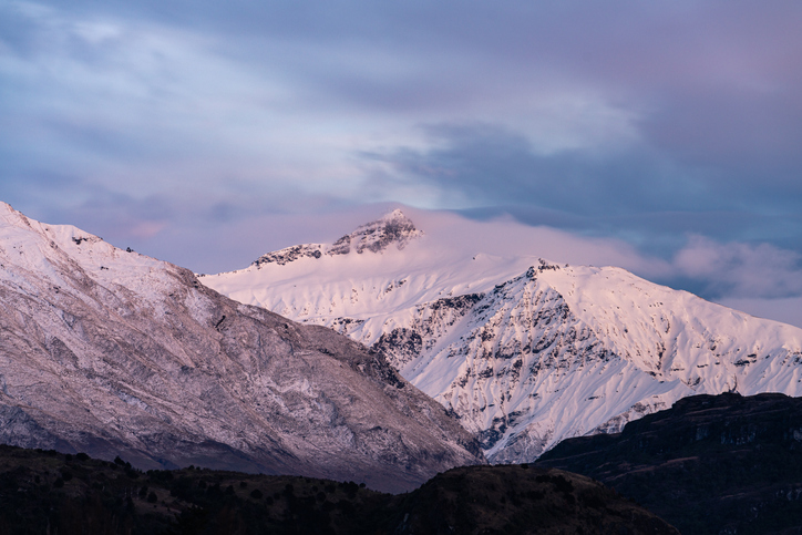 Brewster Glacier is located in Mt Aspiring National Park. Photo: Getty