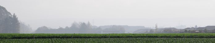 Smoke from an outdoor fire pollutes a large area of Rangiora's clean air zone recently. ECan's...