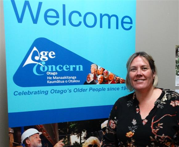 Age Concern Otago Octagon Club host Ange Whiles-Humphreys is looking forward to seeing regular...