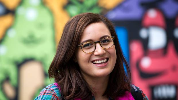 Rose Matafeo claims on Twitter she was barred from a Green Party speaking gig. Photo: Jason...