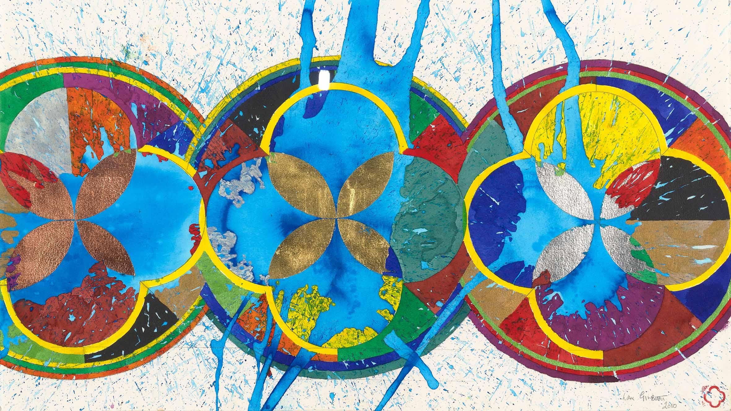 A work from the Max Gimblett and Barbara Kirshenblatt-Gimblett gift. Image: Newsline / CCC