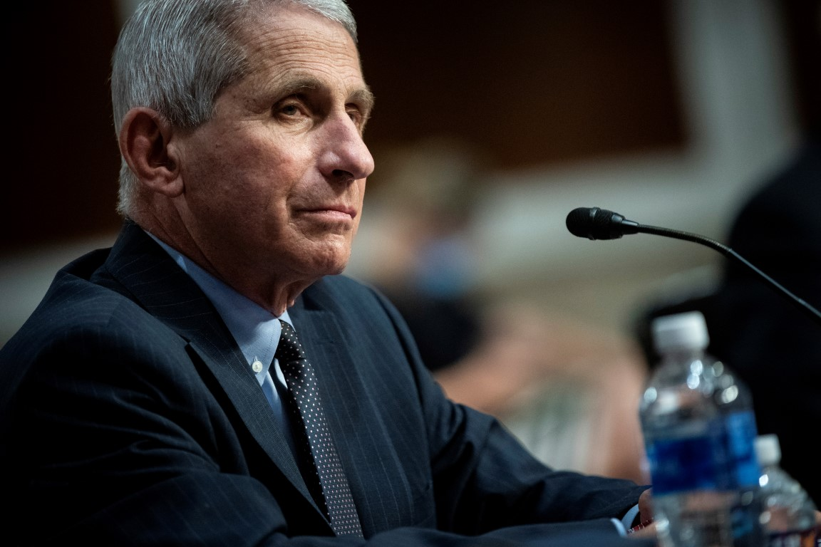 "Dr Anthony Fauci: ""I am very concerned because it could get very bad."" Photo: Reuters"
