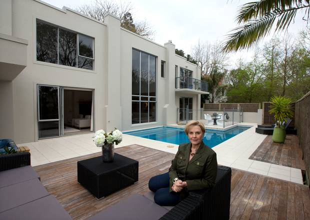 Broadcaster Genevieve Westcott pictured at her home in Castor Bay, Auckland, in 2014. Photo:...