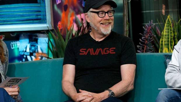 Adam Savage has denied a claim from his sister that he raped her when they were younger. Photo:...