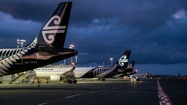 Air New Zealand. Photo: NZ Herald