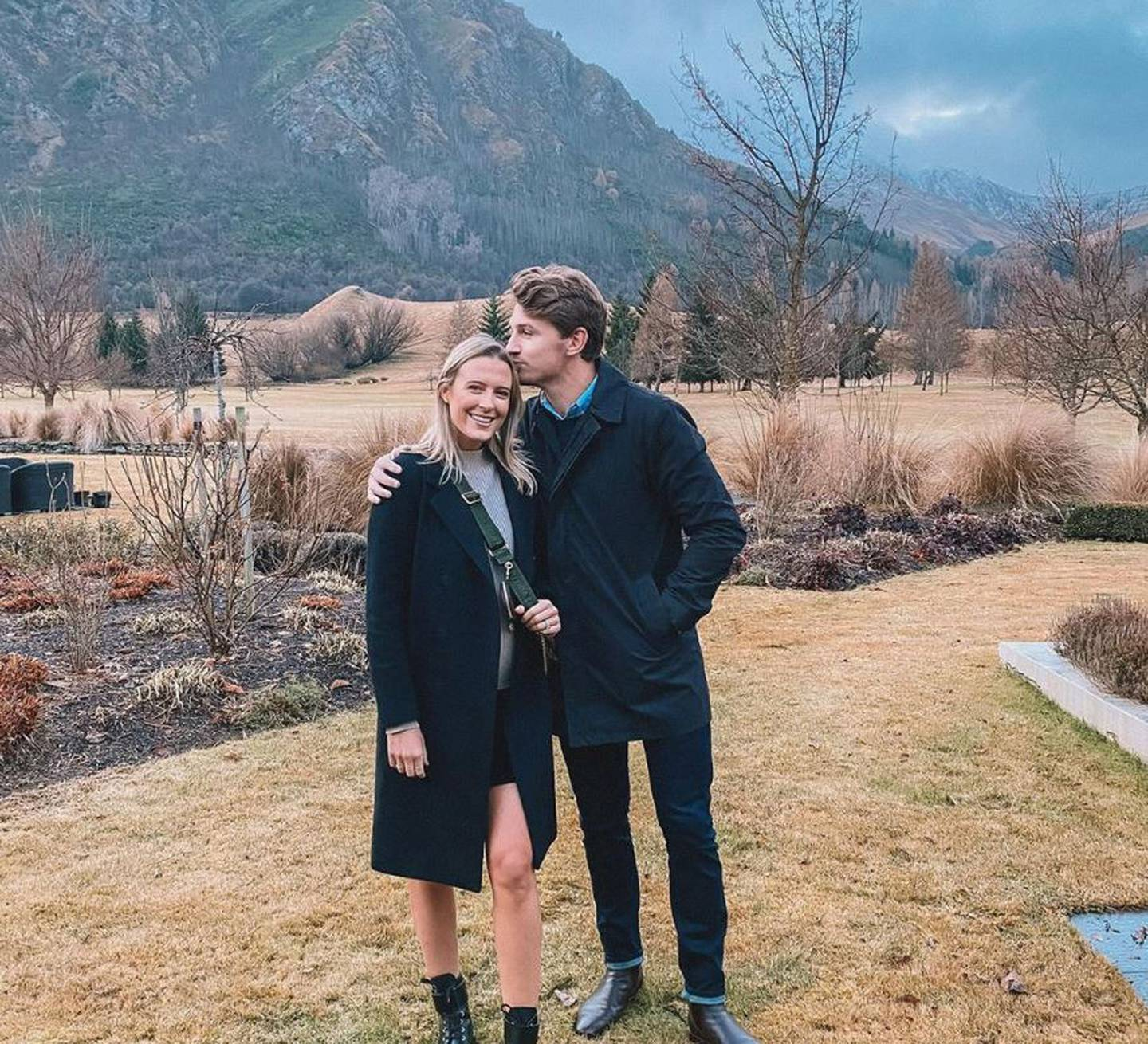 Hannah and Beauden Barrett will be flying to Japan two months after the birth of their baby girl...