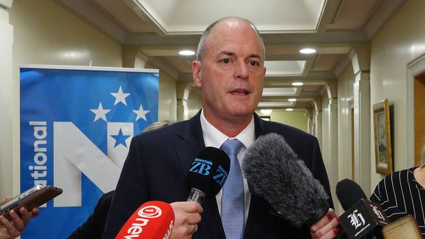 National Party leader Todd Muller. Photo: NZ Herald