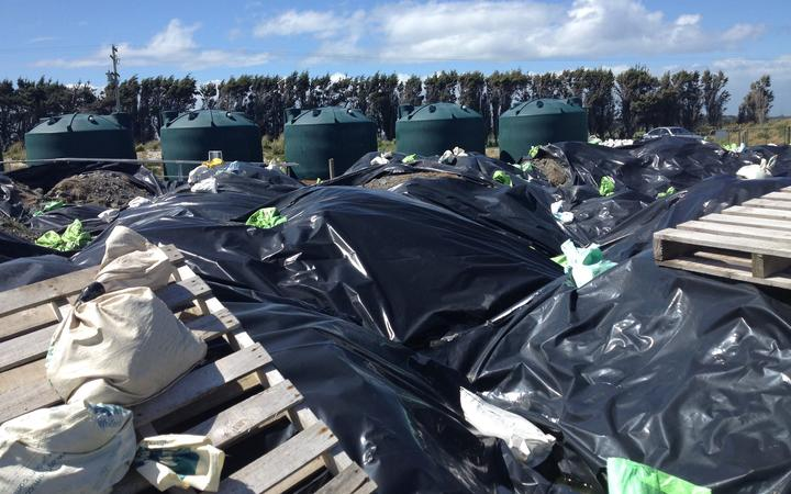 Ouvea premix - or dross - is stored in loose bags around Southland and about 10,000 tonnes of it...