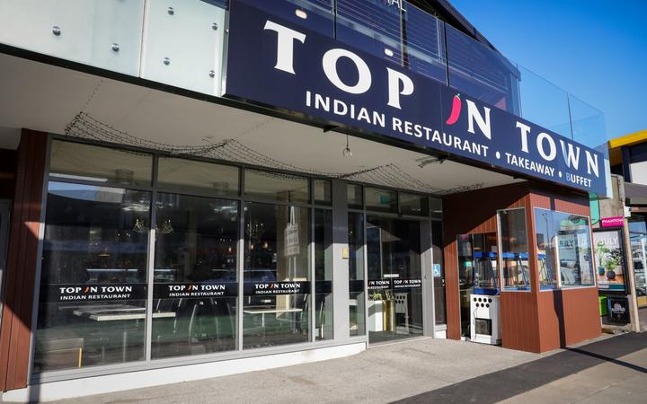 Janveer Jahangir's new Indian restaurant Top in Town opened today. Photo: RNZ / Nate McKinnon