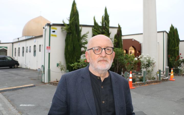 Tony Green, Masjid An-Nur spokesperson. Photo: RNZ / Eden Fusitu'a