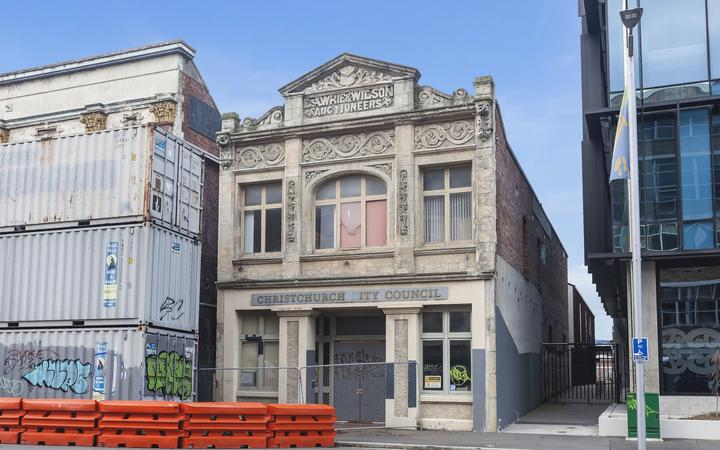 Lawrie & Wilson Auctioneers building in Christchurch. Photo: Supplied