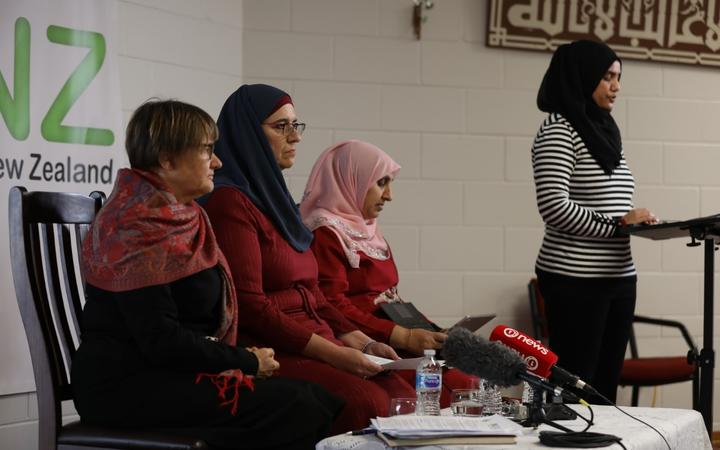 The Islamic Women's Council releasing its submission to the Royal Commission of Inquiry into the...