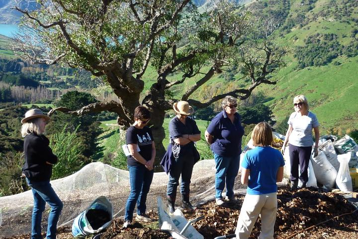 A workshop at Korukai Herb Farm Photo: Supplied via RNZ