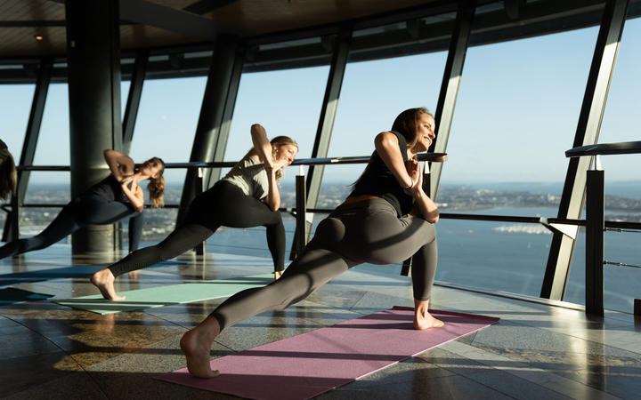 Yogis are keen to take part in the highest classes in the country. Photo: SkyCity