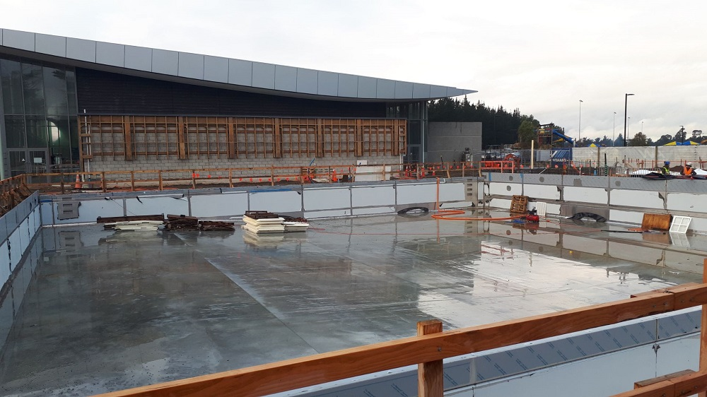 The Selwyn Aquatic Centre upgrade. Photo: Supplied