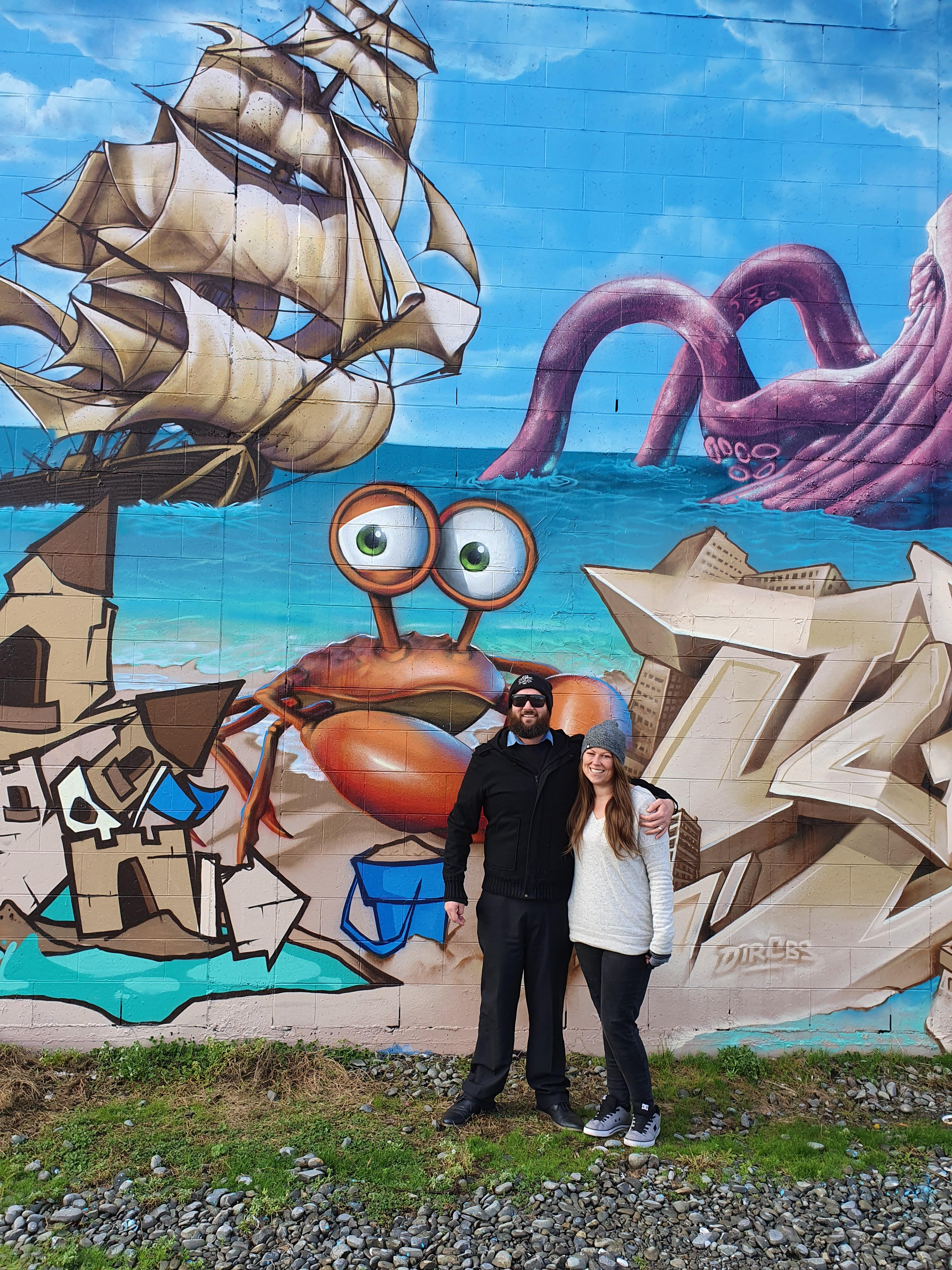 New Brighton Outdoor Art Festival organisers Gavin and Kylie Fantastic were excited to showcase...