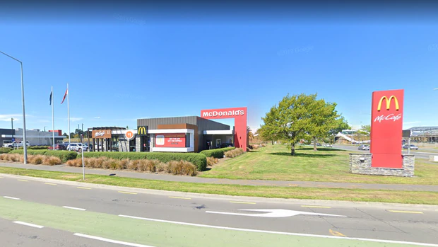 A man who tested positive for Covid-19 visited the McDonald's restaurant near Christchurch...