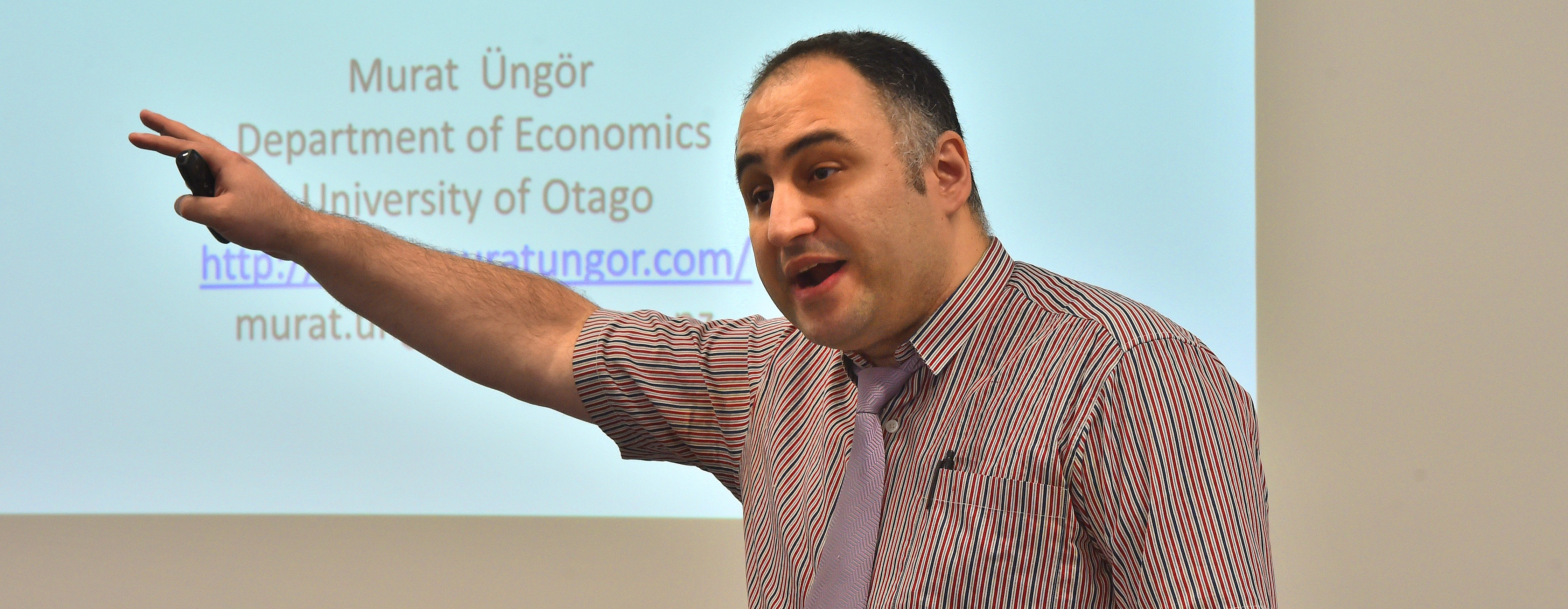 University senior lecturer Dr Murat Ungor said New Zealand was very likely to record a second GDP...