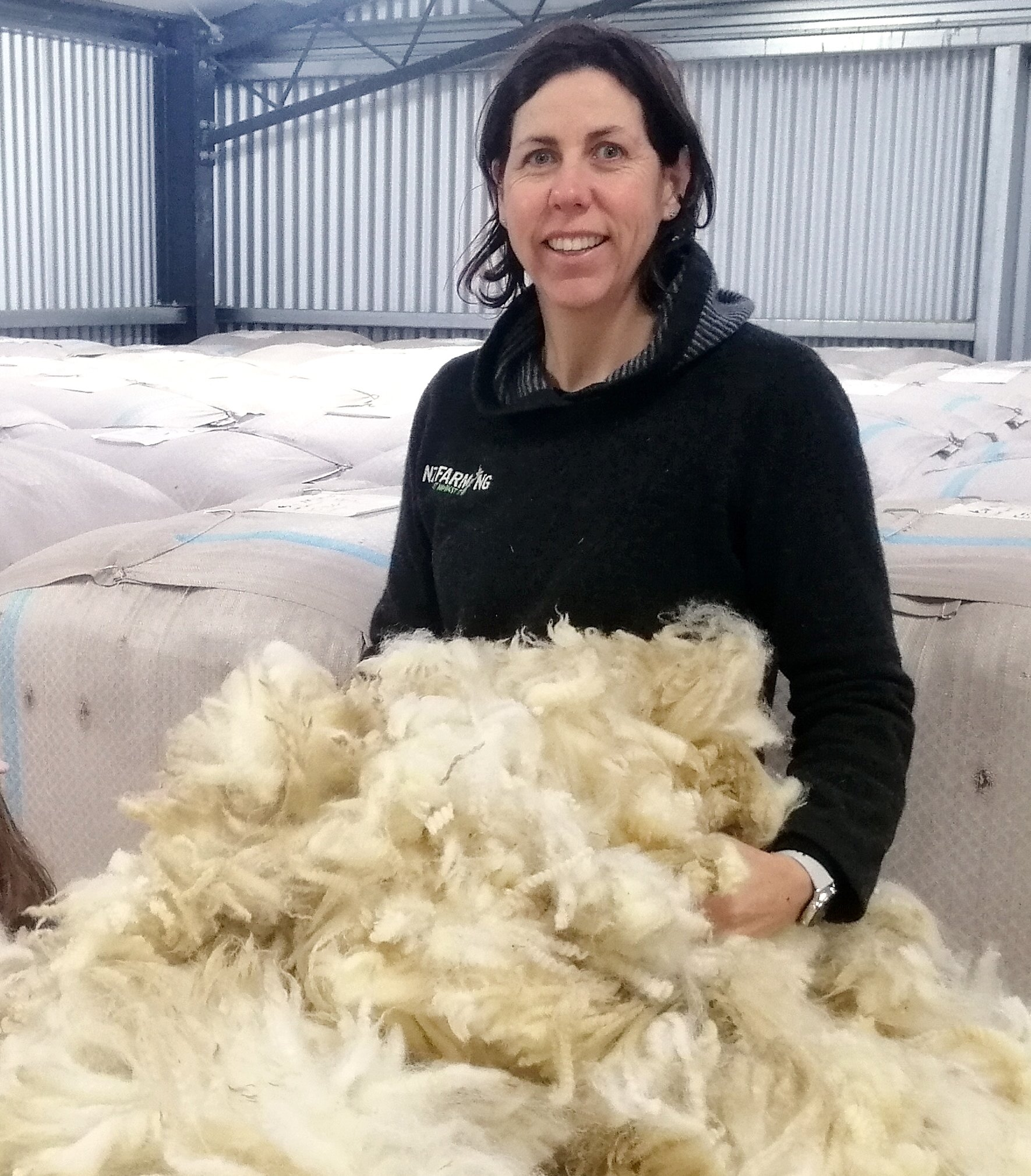 South Otago farmer Amy Blaikie wants to see wool insulation and carpet used in all publicly...