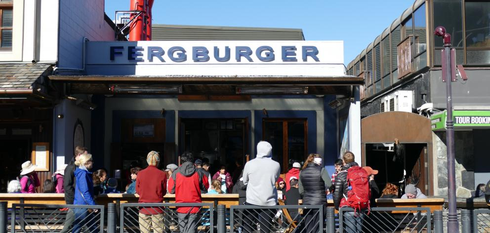 Fergburger restaurant. Photo: ODT files
