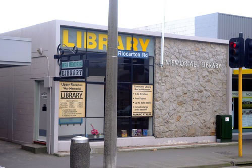 The demolition of the Upper Riccarton War Memorial Library is one of several projects not funded...