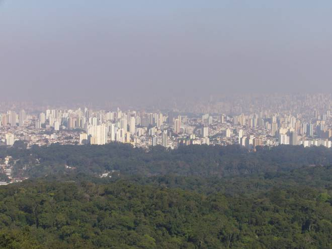 Overlooking Sao Paulo, Brazil, where Kiwi man Kepa Harris is currently stuck. Photo: NZH file