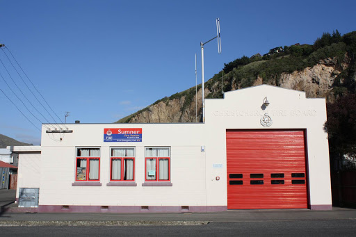 The Sumner Fire Station. Photo: 111emergency.co.nz