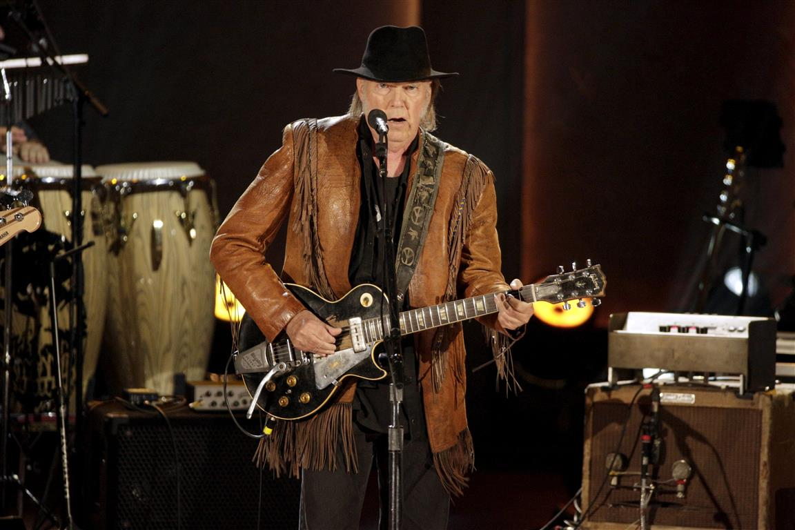 Neil Young. Photo: Reuters