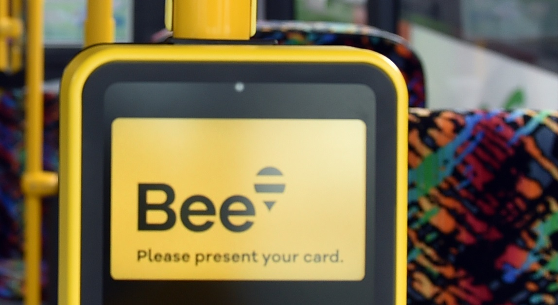 The Bee tag on-tag off system starts in September. Photo: ODT files