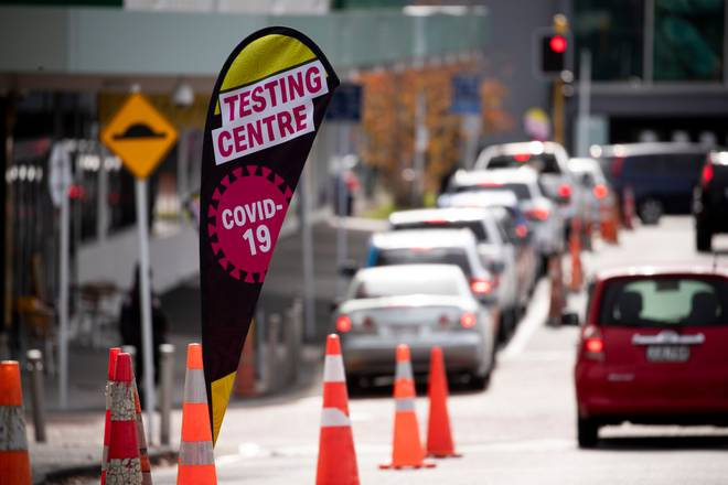 Covid-19 testing has been taking place around Auckland. Photo: NZ Herald