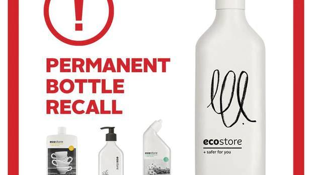 The 'permanent bottle recall' left many Ecostore customers upset. Photo: Facebook