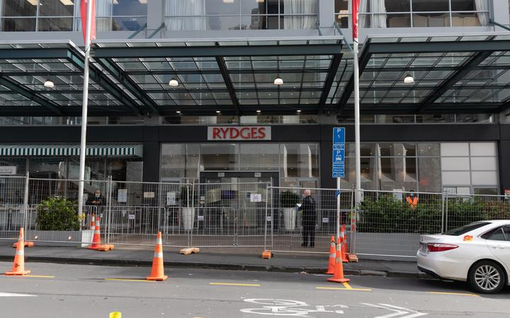 The Rydges Hotel in Auckland is being used as one of New Zealand's government-run managed...