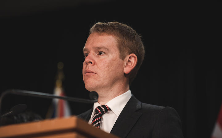 Health Minister Chris Hipkins announced the trial today. Photo: RNZ
