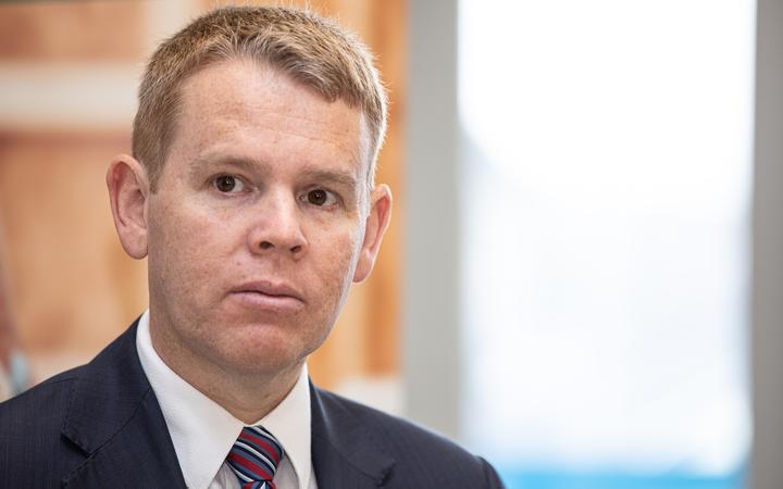 Education Minister Chris Hipkins. Photo: RNZ