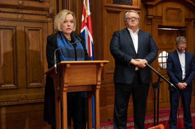 National Party leader Judith Collins and deputy leader Gerry Brownlee. Photo: Mark Mitchell