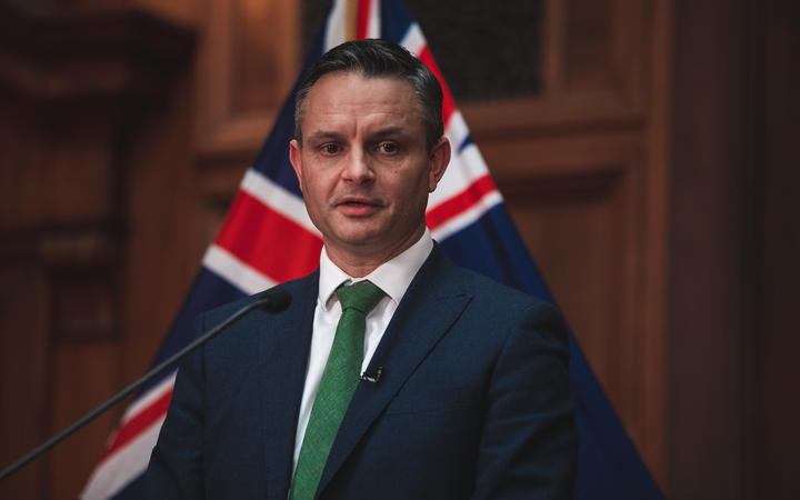 Climate Change Minister James Shaw announced the $200m fund in January. Photo: RNZ