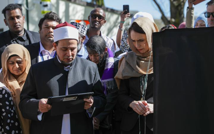Imam Gamal Fouda says freedom of speech can turn into hate speech. Photo: RNZ / Nate McKinnon
