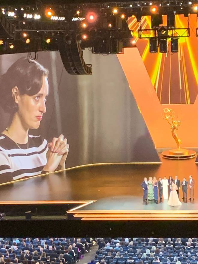 If you pull out your binoculars, you can see Phoebe Waller-Bridge's face. Kinda. Photo: Supplied...