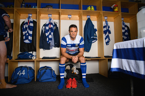 Dan Carter's surprise addition to the Southbridge side proved decisive when he kicked five...