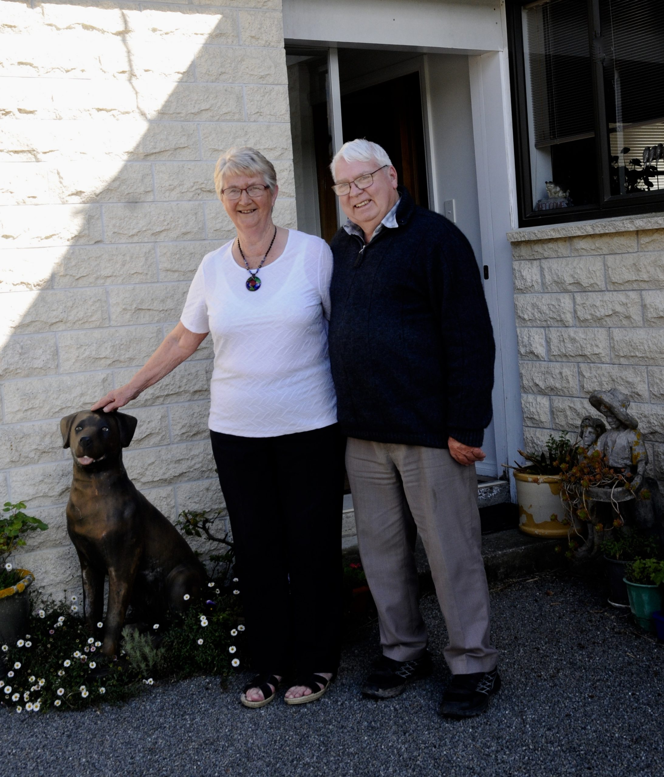 Lorraine and Graham Robinson will mark their 60th wedding anniversary on October 1. Photo:...