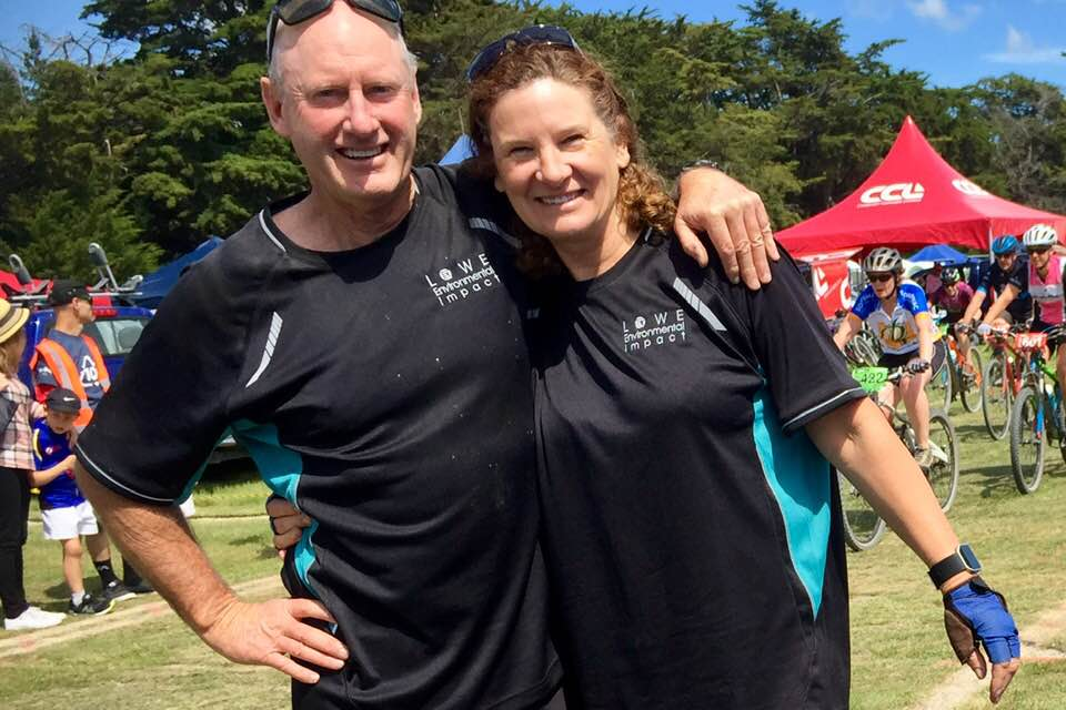 Rob and Jane Potts are competing in the Hunter Civil six-hour mountain bike challenge in...