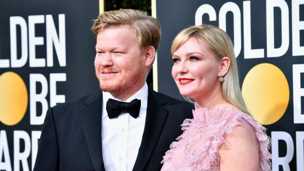 Kirsten Dunst and Jesse Plemons. Photo: Getty Images