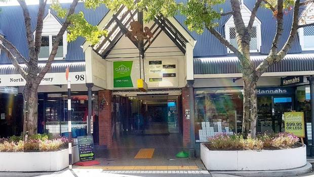 Emergency services are responding to reports of a gas leak near Gables Arcade in Rangiora. Photo:...